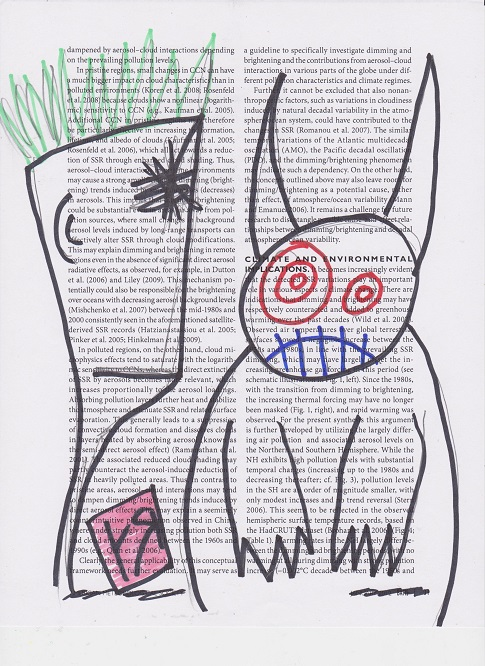 drawing-on-found-paper (april 2013) - (peg)
