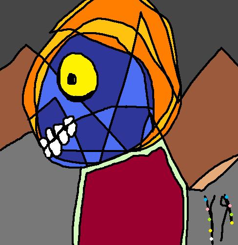 Stained Glass Monster