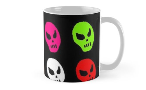 thursday skulls coffee mug