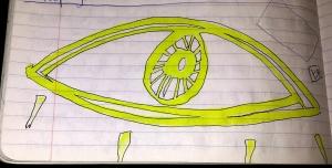 4 - yellow eye