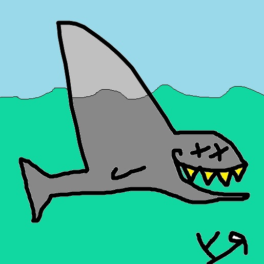 shark (under the influence)