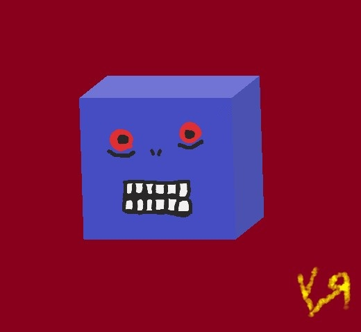 stupid cube monster