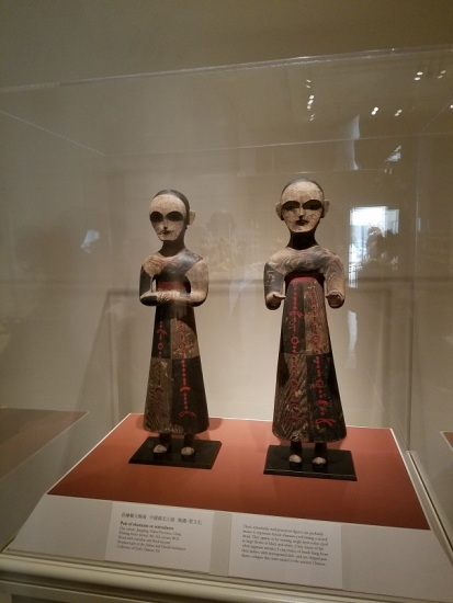 05 - (Artist Unknown) Pair of shamans or attendants - Chu culture, China - (peg)