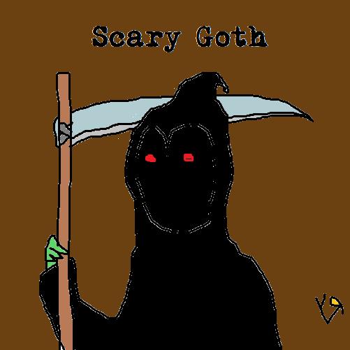 scary goth