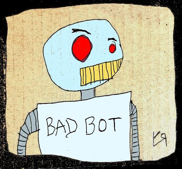 bad bot (2 Aug. 2017) by rfy - (peg)