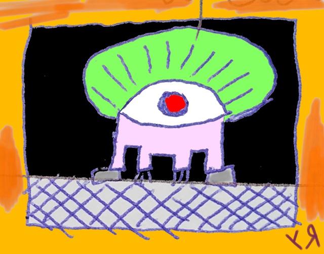 algae head (5 oct. 2017) by rfy - (peg)