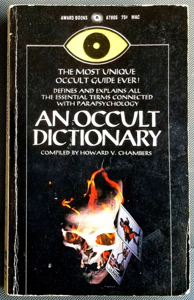 an occult dictionary (1966) - (peg)