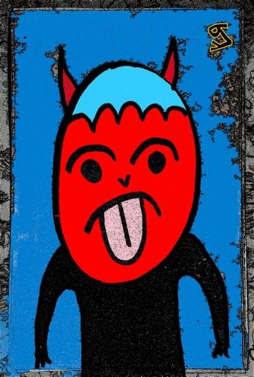 poetry devil - (peg)