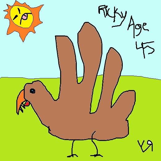 turkey (ricky age 45) (23 nov. 2017) by rfy