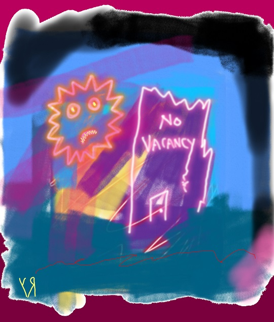 no vacancy (13 dec. 2017) by rfy - (peg)