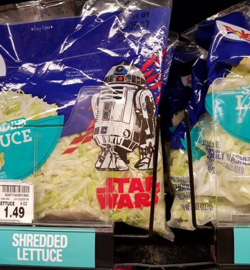 wtf does star wars have to do with shredded lettuce (2 dec. 2017) by rfy - (peg)
