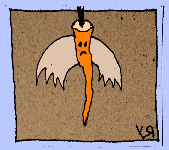 flying carrot (4 feb. 2018) by rfy - (peg)