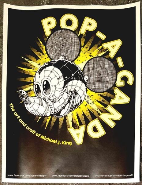 popaganda poster - (peg)