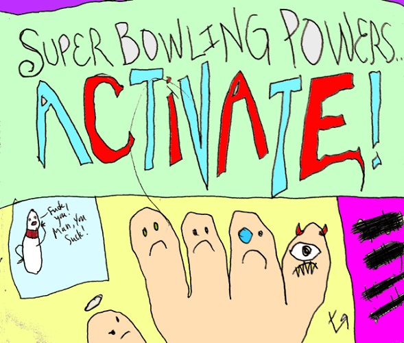 super bowling powers...activate(exclam) (4 feb. 2018) by rfy - (peg)