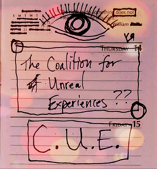 the coalition for unreal experiences (5 feb 2018) by rfy - (peg)