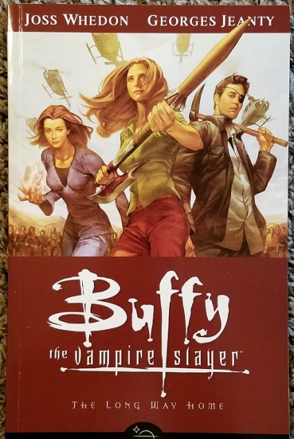 buffy the vampire slayer - the long way home (2007) - (peg)