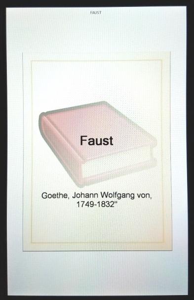 faust (Trans. Bayard Taylor) (1770s to 1820s-1890) - (peg)