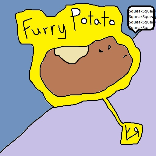 furry potato (22 mar. 2018) by rfy