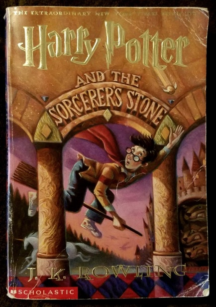 harry potter and the socerers stone (1997-1998) - (peg)