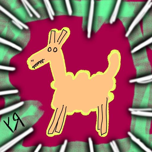 power llama (1 mar. 2018) by rfy - (peg)