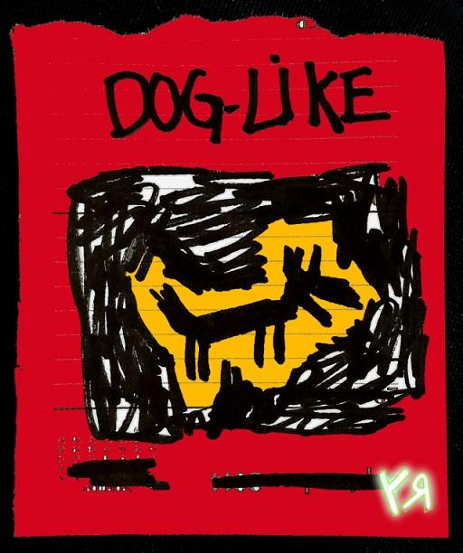 dog-like (black dog) (28 apr. 2018) by rfy - (peg)