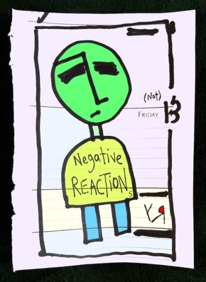 negative reaction (17 apr. 2018) by rfy - (peg)