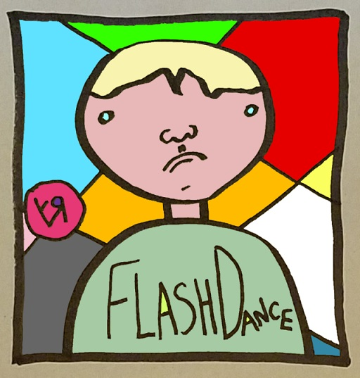 flash dance (bad movie t-shirt) (28 jul. 2018) by rfy - (peg)