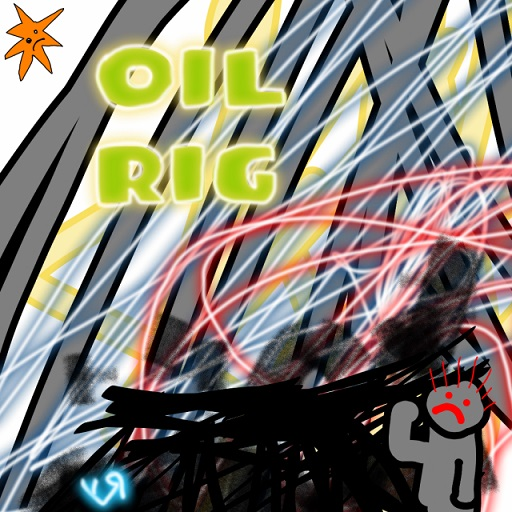 oil rig (9 may 2018) by rfy - (peg)