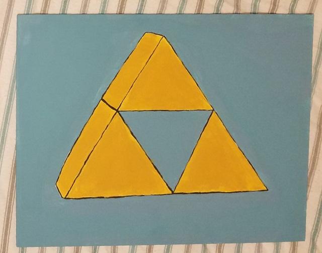 triforce by talia clark - (peg)