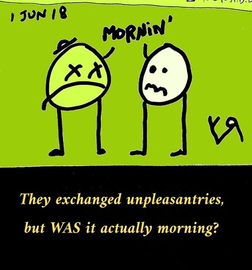 mornin (a mystery) (2 may 2018) by rfy - (peg)