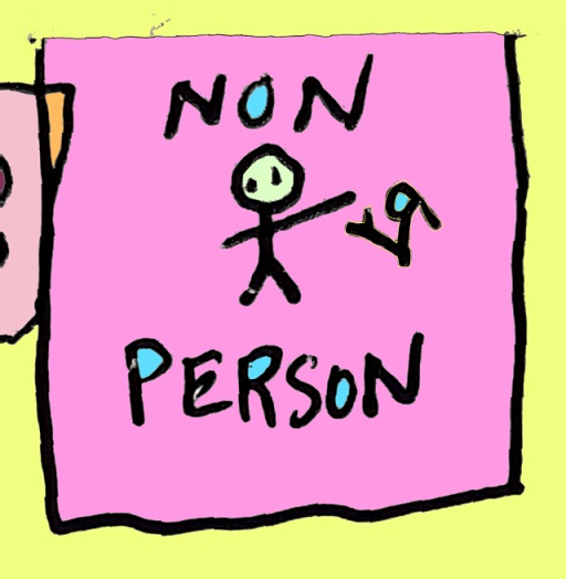 non person (9 jun. 2018) by rfy - (peg)