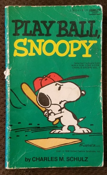 play ball snoopy (1973-1974) - (peg)