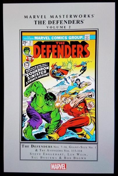 the defenders - marvel masterworks volume 2 (2016) - (peg)