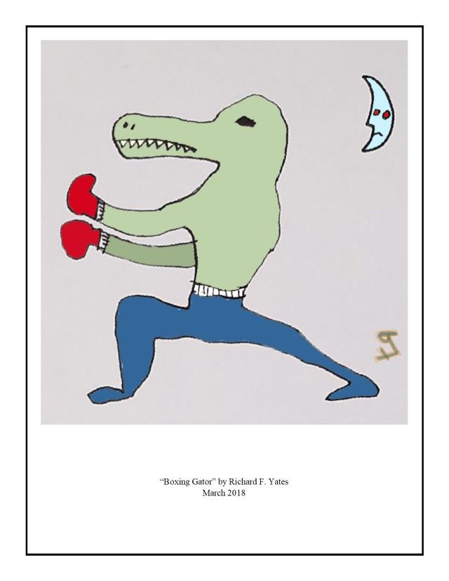 Boxing Gator