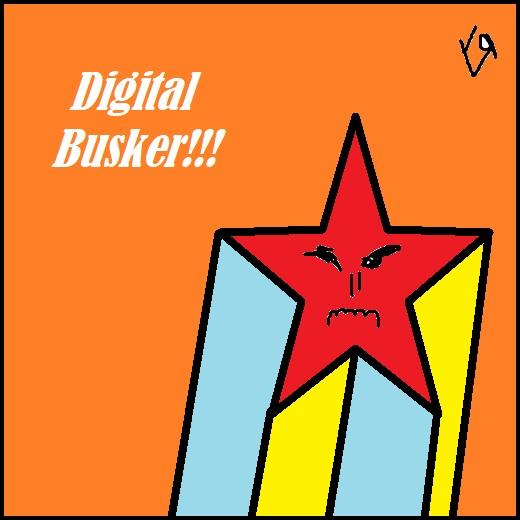 digital busker (6 jul. 2018) by rfy