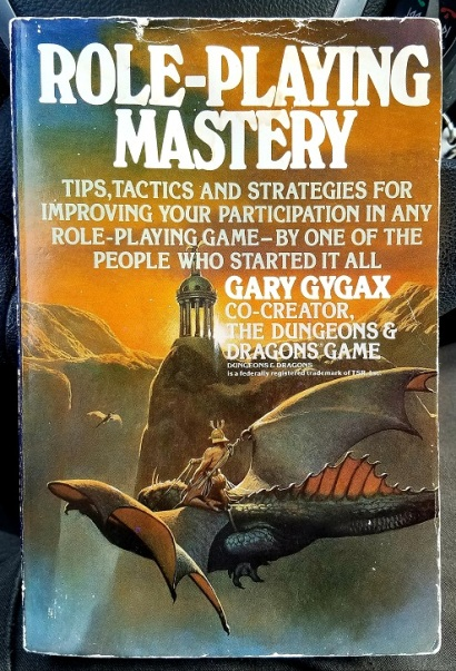 role-playing mastery (1987) - (peg)