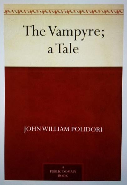 the vampyre (1819) - (peg)