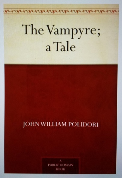 the vampyre (1819) - (peg)