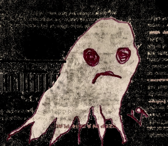 grungy ghost (8 sep. 2018) by rfy - (peg)