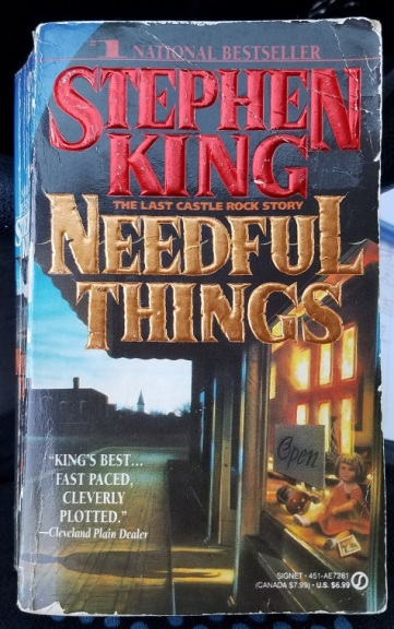 needful things (1991-1992) - (peg)