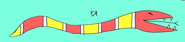 fruit stripe snake (11 oct. 2018) by rfy - (peg)