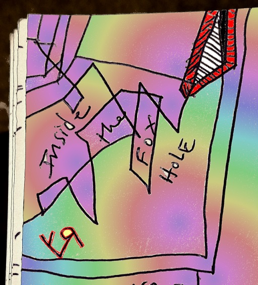 inside the fox hole (10 oct. 2018) by rfy - (peg)