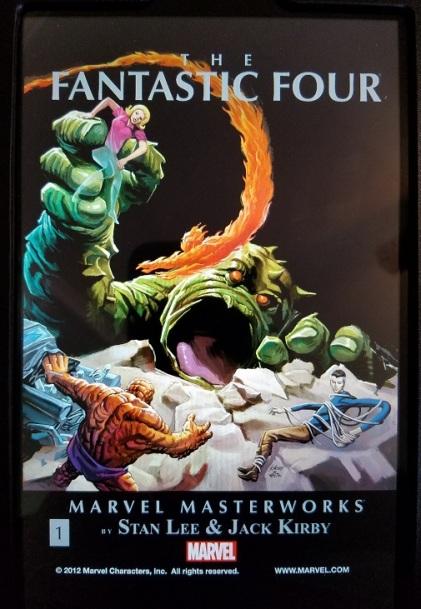 fantastic four marvel masterworks vol. 1 - (peg)