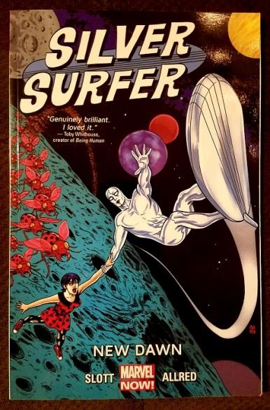 silver surfer - new dawn (2014) - (peg)