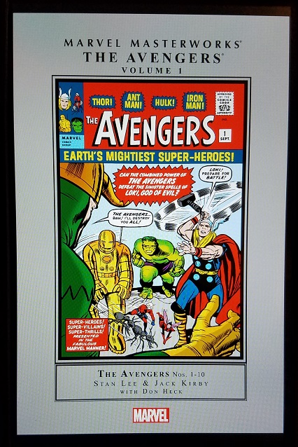 avengers mm vol 1 - (peg)