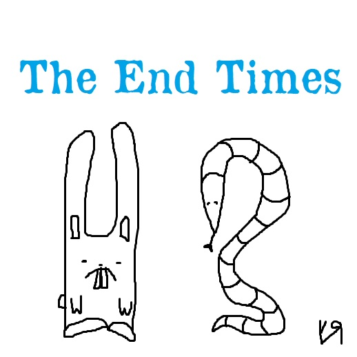 the end times (11 jun. 2019) by rfy